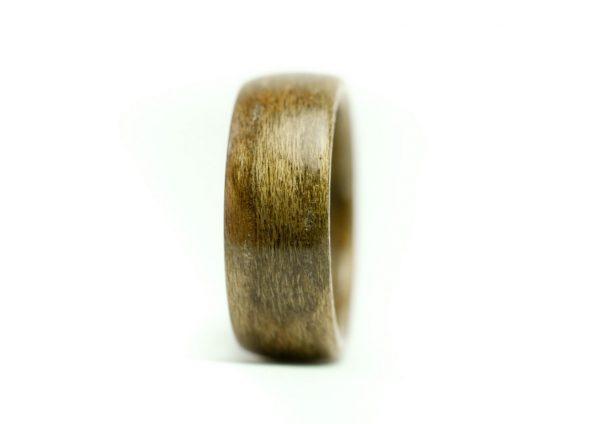 Obrączka pierścionek z drewna czereśnia europejska