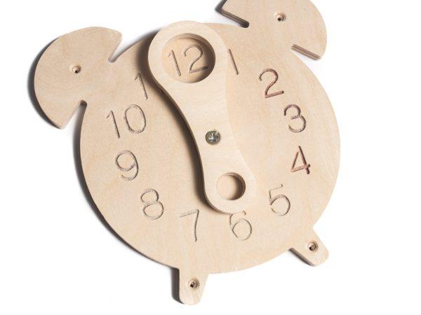 Zegar do tablicy manipulacyjnej / sensorycznej.